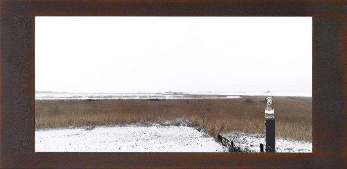 Fine Art C-print, framed in rusted iron, de Putten